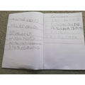 Fantastic science work Harriet