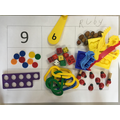 We found different ways to represent numbers