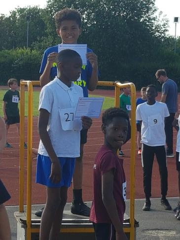 City Champion Y5 60m sprint