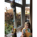 Freya made some fantastic Easter crafts