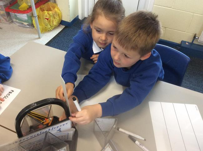 Measuring objects in the classroom