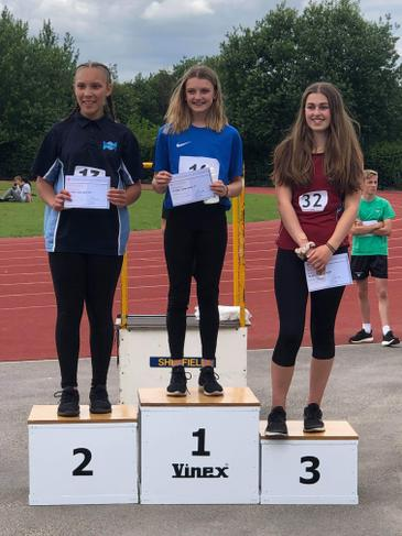Y8 Long Jump champion 2019