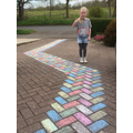 Look out for Charlotte's amazing driveway!