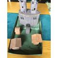 Molly's brilliant Motte and Bailey Castle