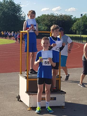 3rd in the City 600m distance race