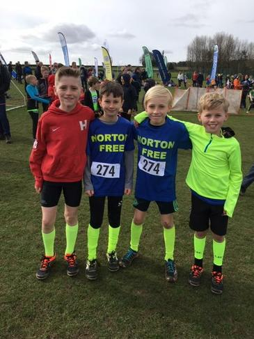 Y5 and Y6 Boys Relay Team A