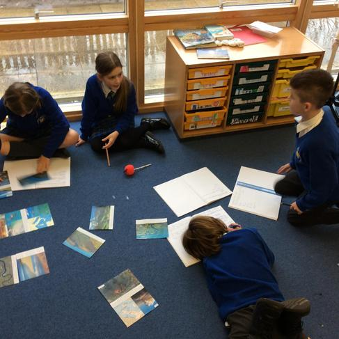 Comparing pictures of different landscape features