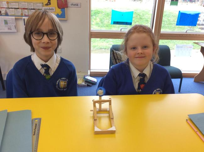 Some of the fantastic catapults