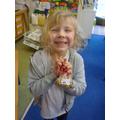We loved making the reindeer food!