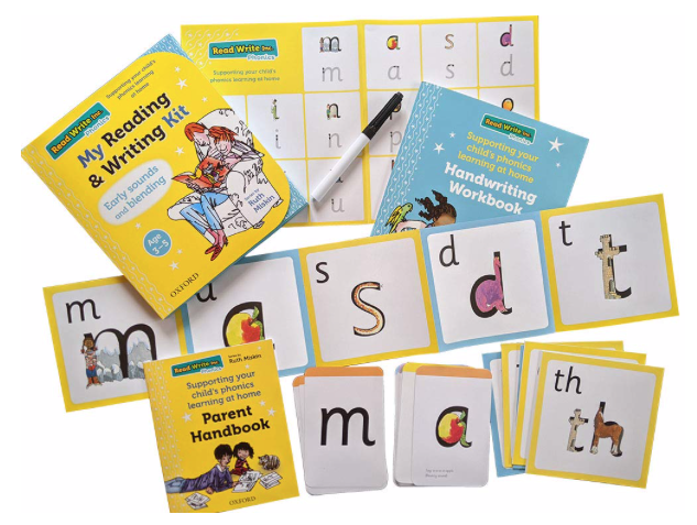 RWInc Home Learning Packs can be purchased starting from £6