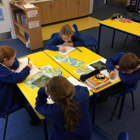 Comparing different topographical maps