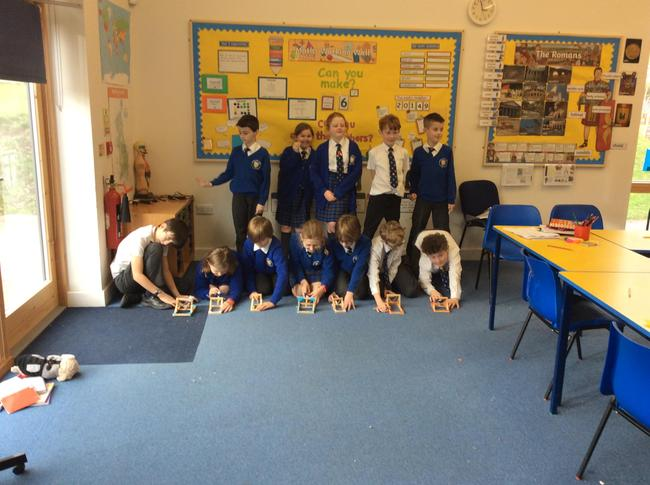 Putting the catapults to the test