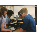 Year 6 examining and rebuilding computers
