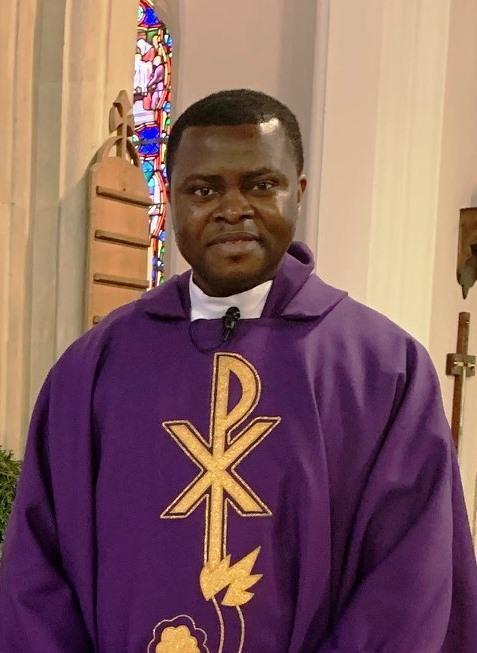 Fr Gaston Afah - Assistant Priest