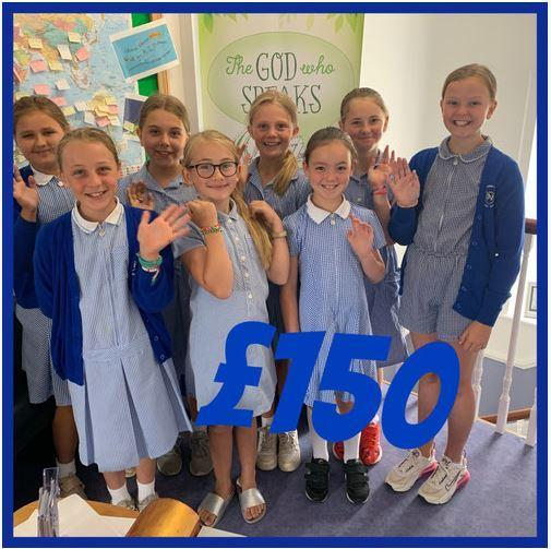 Year 5 fundraising during playtimes for Teenage Cancer Trust