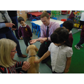 When Betty the guide dog puppy came to visit