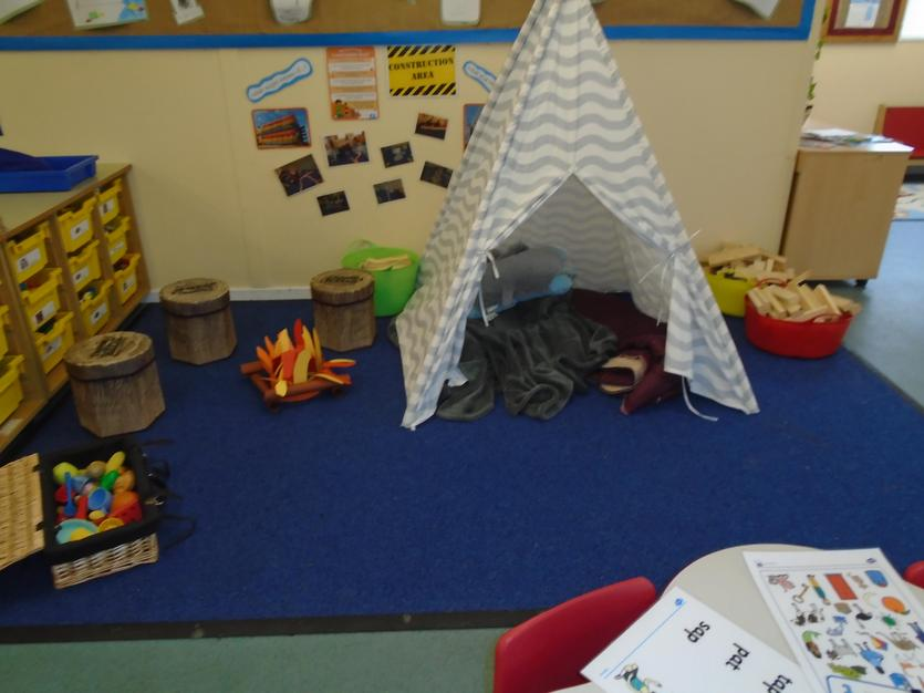 We loved our campsite!