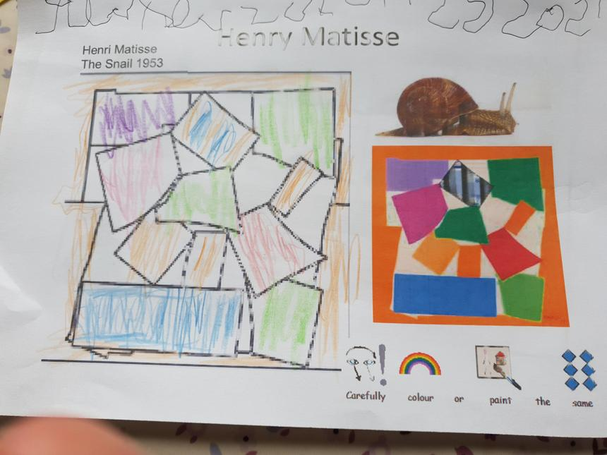 James' Henry Matisse picture