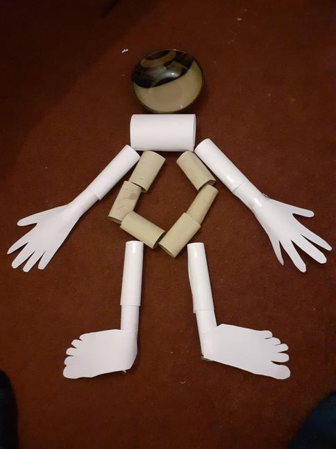 Mary's sculpture of herself