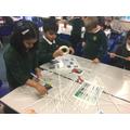 We had great fun creating the landmarks of London.