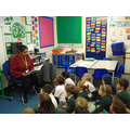 Story time is one of our favourite times of the day in Year 1