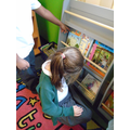 So much choice during library time!