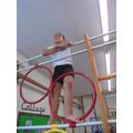 Gymnastics in Sycamore class