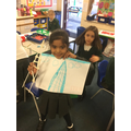 We had great fun creating the landmarks of London.