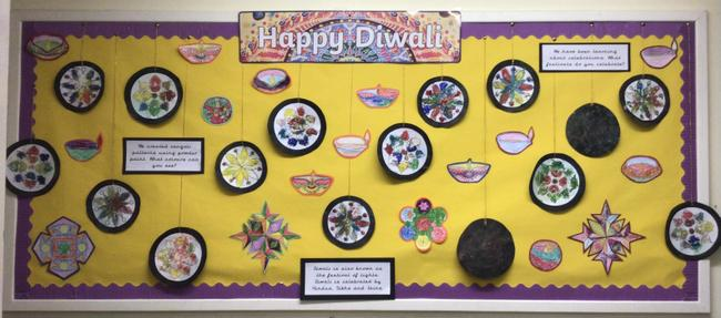 Happy Diwali to all of our families who are celebrating!
