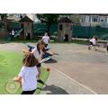 Tennis skills in Horse Chestnut class