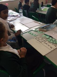 We had a go at writing numbers in words
