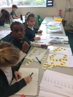 We are having fun in Maths!