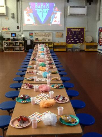 Year 2- Mad Hatter's Tea Party.