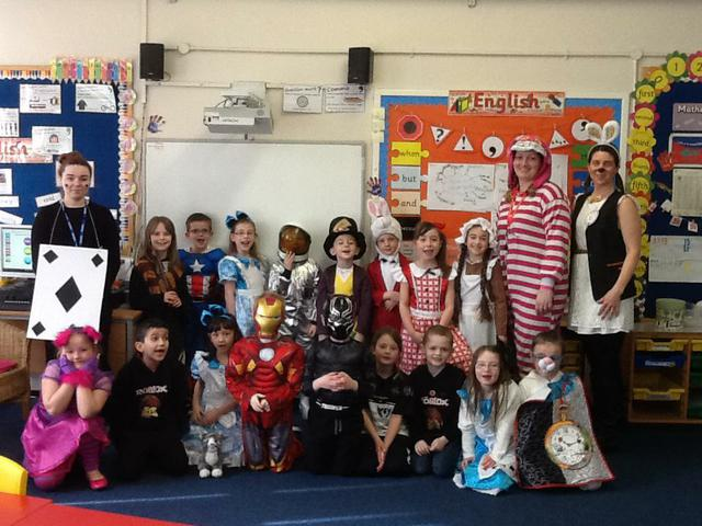 Class 8 all dressed up.