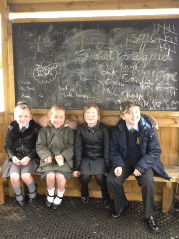 Have you seen our outdoor Science Blackboards?