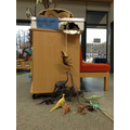 The dinosaurs have been behaving very strangely!