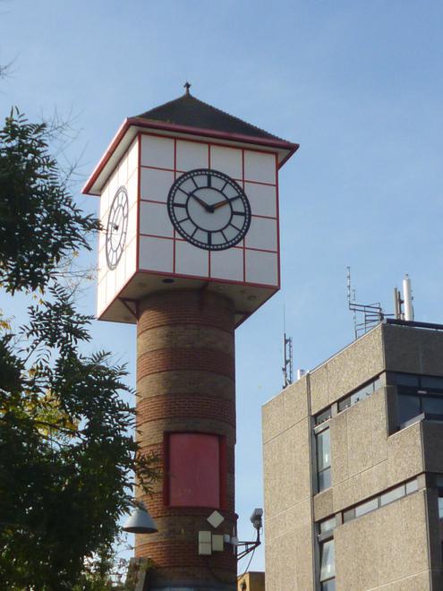 Dartford's clock tower