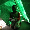 The children loved reading stories to each other.