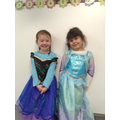 Dressing up as Fairy Traditional Tale character.