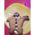 Making Gingerbread men.