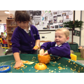 We have investigated pumpkins.