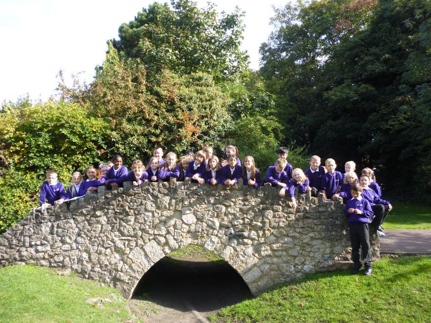 Medieval Bridge in Dartford Park