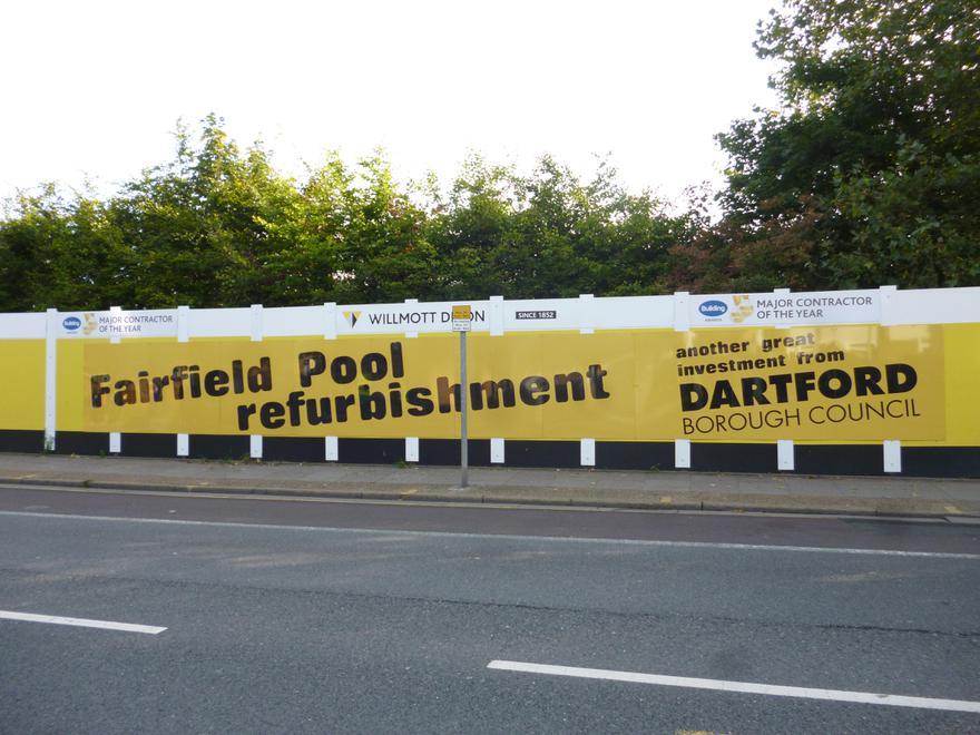 New swimming pool coming soon!