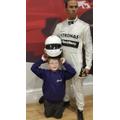 Max meets Lewis Hamilton