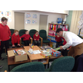 In the Spring Term we met with Oliver from YPO.
