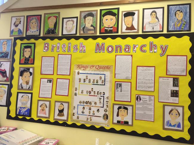 Learning about the British Monarchy