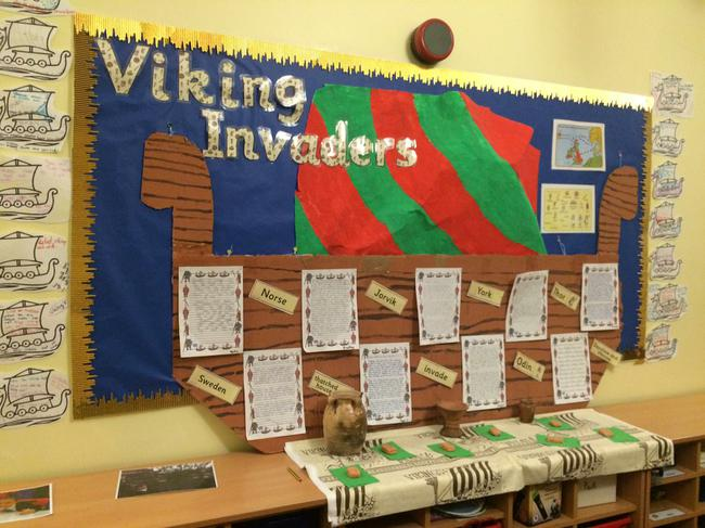 Our topic was Vikings