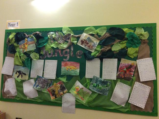 Our topic was 'The Jungle'