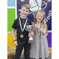 1st Place Yrs 2 & 3 (Issac K & Sophie D)