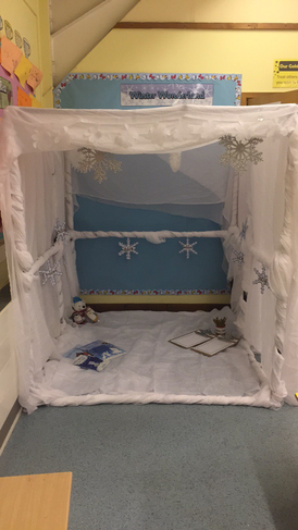 Our winter wonderland is ready